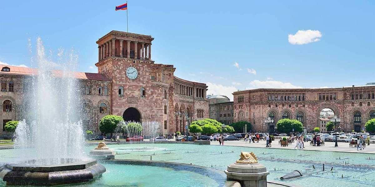 Площадь Республики города Ереван