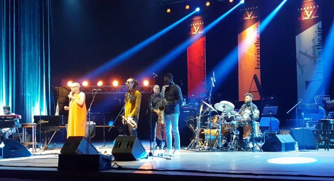 Фестиваль джаза в Ереване
