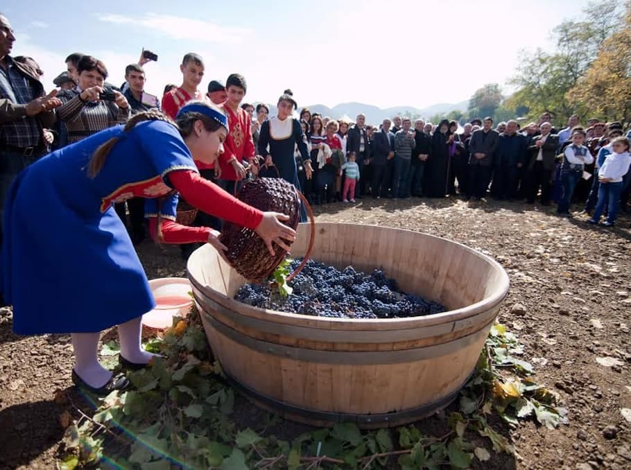 Винный фестиваль в Ереване