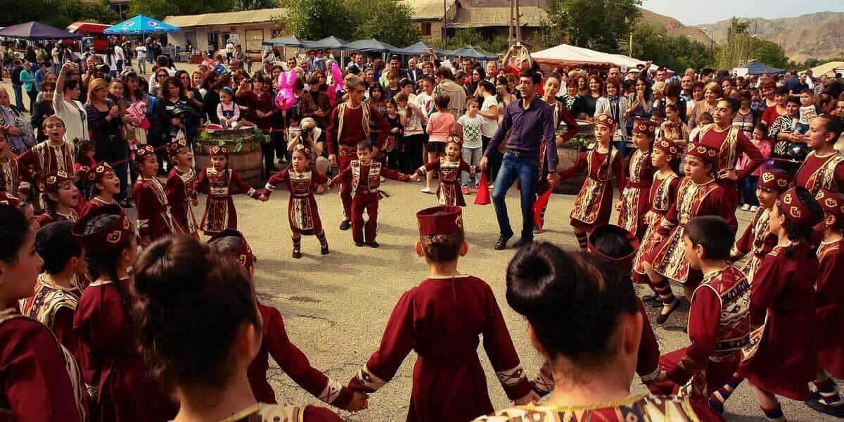 Фестиваль в Армении